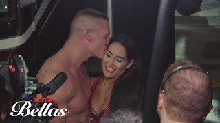 An emotional Nikki Bella is shocked after John Cena's surprise proposal: Total Bellas, Oct. 25, 2017