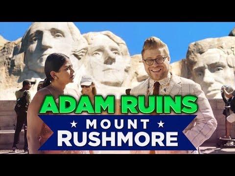 Mount Rushmore je nejhorší monument - Adam všechno pokazí