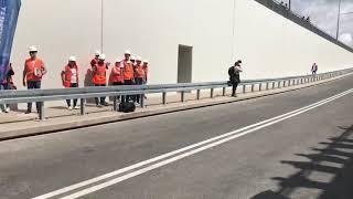 Wideo1: Oficjalne otwarcie wiaduktu kolejowego w Rawiczu