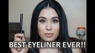 Quick & Easy Eyeliner Tutorial using NYX VINYL EYELINER || Fanny
