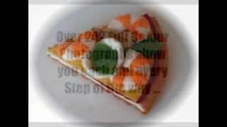 Felt Crafts - Felt Food Pizza & Other Italian Food Patterns (from The Felt Cuisine Series)