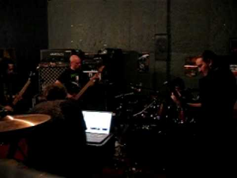 First full Murder Construct rehearsal (1/17/2010) online metal music video by MURDER CONSTRUCT