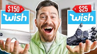 I Bought $1,042 Worth of Wish Mystery Tech!!