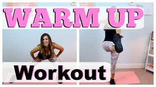 Full Body Warm Up Routine | Pre-Workout by Love Sweat Fitness