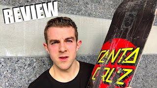 Santa Cruz Classic Dot Skateboard Deck Review