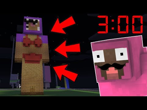 DO NOT PLAY ON THIS SERVER AT 3AM!! | Minecraft