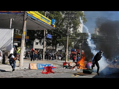 Βραζιλία: Χάος πριν τη σέντρα στο μουντιάλ