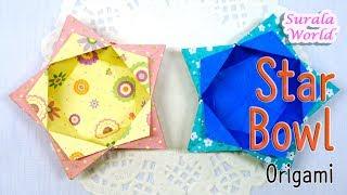 Origami - Bintang Lentéra (bejana, Pétromaks)
