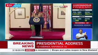 President Kenyatta thanks various stakeholders including media in COVID-19 fight in Kenya