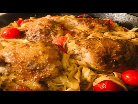 HOW TO MAKE LEMON PEPPER CHICKEN & PASTA – STORHANZ COOKING CHANNEL