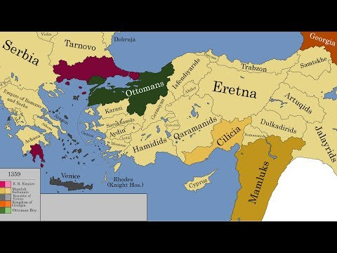 The History of #Anatolia (Every year from 1550 BC to today ...