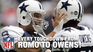 Every Tony Romo to Terrell Owens Touchdown Pass | NFL Highlights