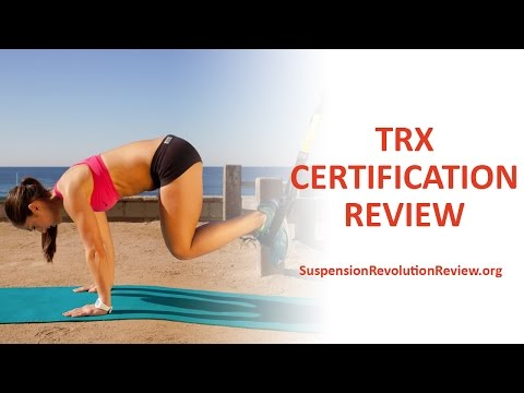 TRX Certification Review :: How To Become a TRX Trainer - YouTube