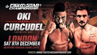 FIGHTSTAR CHAMPIONSHIP 13   Bolaji Oki vs. Alex Curcudel