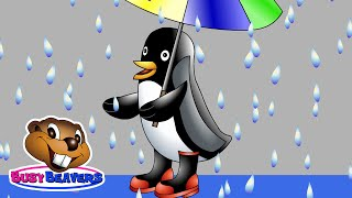 """It's Rainy Song"" (Level 2 English Lesson 08) CLIP - Weather Song, Children's Education"