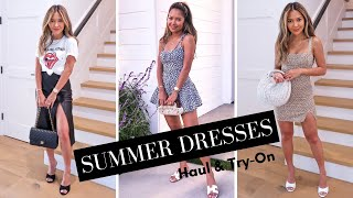 Summer Dresses Haul & Try-On 2019 | Look Cute In The Heat