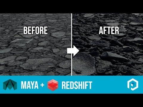 Redshift Displacement & Normal Maps Tutorial - игровое видео