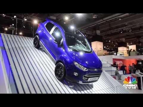 Frankfurt Motor Show 2015: Ford EcoSport facelift unveiled