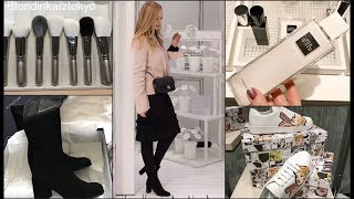 Shopping Vlog * Японская косметика Новинки , Примерка одежды  (Blondinka iztokyo)