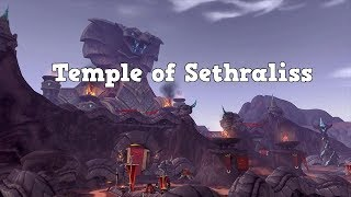 WoW BFA - Temple of Sethraliss Normal Mode Bosses (quick guide)