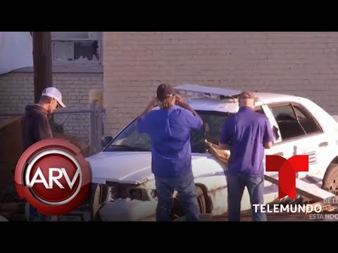 Tornado en Dallas deja a miles de personas sin luz y estructuras destruidas | Telemundo