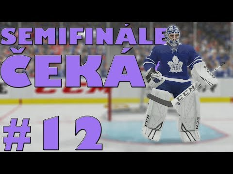 NHL 19 | KOBLIH GOLMANEM #12 | SEMIFINÁLE ČEKÁ! | CZ/SK