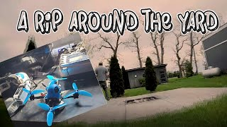 A rip around the yard BETA 115HD Quadcopter Freestyle