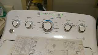 Fixing Unbalanced Load on GE washer - Washer Not Draining Water or Spinning | Model GTW460ASJ5WW