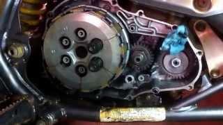 10 Oil Change in Suzuki LTZ 400 - Quad Quadsport Z400 Motul - Most ...