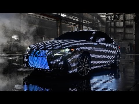 Video Signals: The Lexus LIT IS Reveal