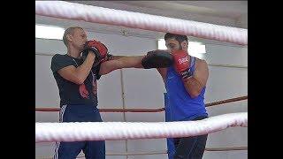 Курский боксер выиграл свой шестой профессиональный бой