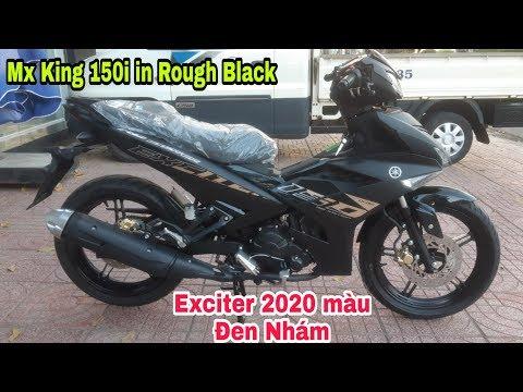 Giá xe Yamaha Exciter 150 màu ĐEN NHÁM 2020 (Yamaha Mx King 150i in Rough Black) Sáu Vlogs
