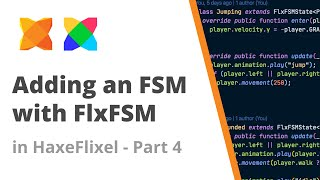 31. Adding a finite state machine (FSM) to a HaxeFlixel sprite - Part 4 - fixing FlxFSM bugs