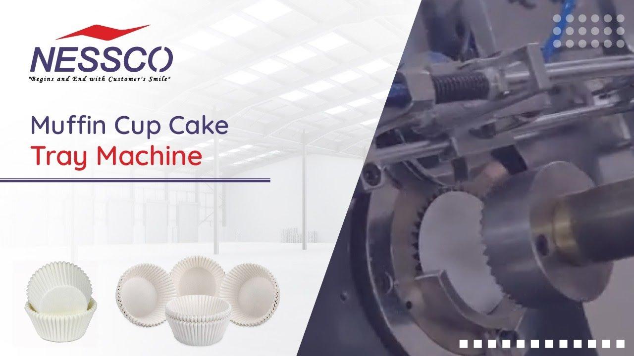 Paper Cupcake Muffin Tray    Fully Automatic Machine   Nessco