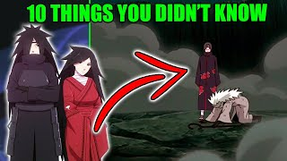 10 Things You Didnt Know About Madara Uchiha The First Hokage In Naruto & Boruto