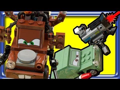 Vidéo LEGO Cars 9483 : L'évasion de l'Agent Martin