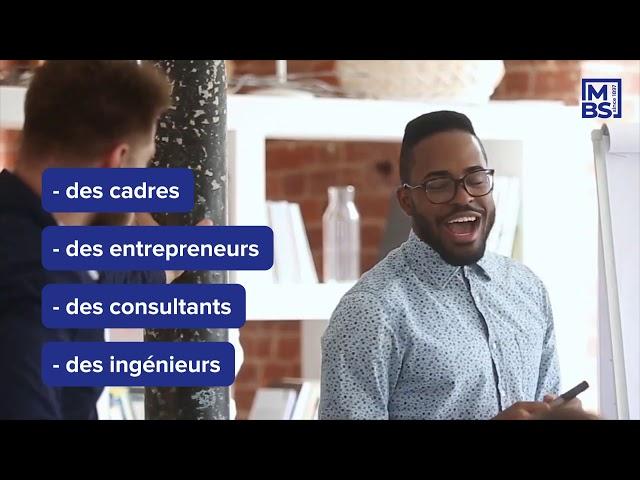 Révélez tout votre potentiel et rejoignez l'Executive MBA de MBS?