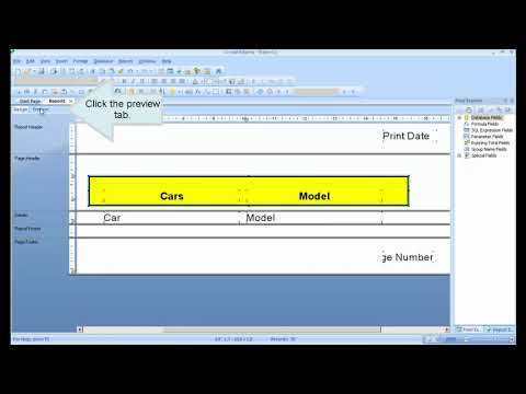 Crystal Reports Tutorial from zero to hero. Full Crystal Reports ...