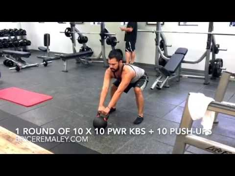 Kettlebell Power Swing