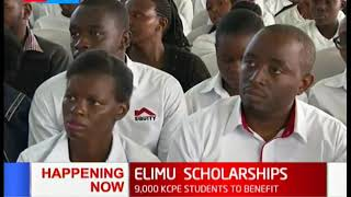 9000 KCPE students set to benefit from the Elimu Scholarship