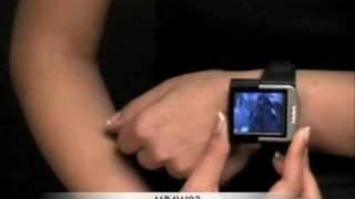 Movie Player Watch MP4 Player