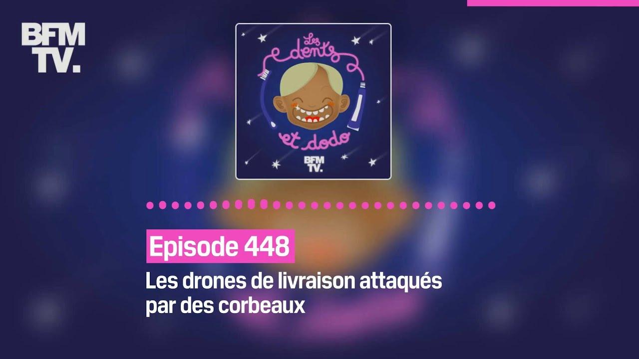 Les dents et dodo - Épisode 448 : Les drones de livraison attaqués par des corbeaux