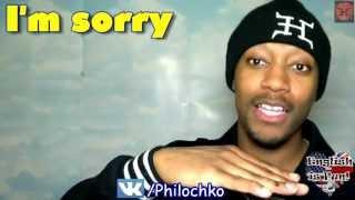 "Учим Английский, How to say ""I'm Sorry"""