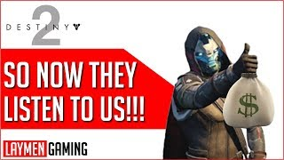 Bungie Finally Bundles Forsaken with Previous DLC's (After They Made Their Money)