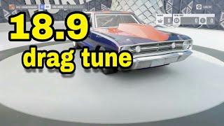 forza horizon 3 dodge dart drag tune  (18.9sec) full drag tune