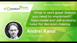 ANDREI KAROL. What Is Next Great Feature You Need To Implement?