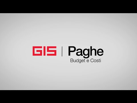 Preview video GIS Paghe - Budget e Costi