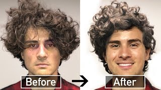 BEST CURLY HAIR TUTORIAL For MEN (PARODY But Also Some Kinda Good Tips)