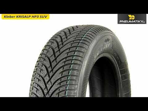 Youtube Kleber KRISALP HP3 SUV 215/65 R16 102 H XL Zimní