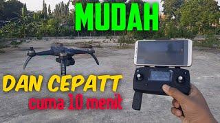 TUTORIAL CARA MENERBANGKAN DRONE MJX BUGS 5W 4K DARI NOL HINGGA TERBANG//DAN HASIL KAMERA BUGS 5W 4K